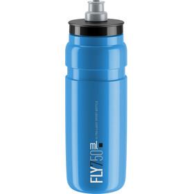 Elite Fly Trinkflasche 750ml blau/schwarzes logo